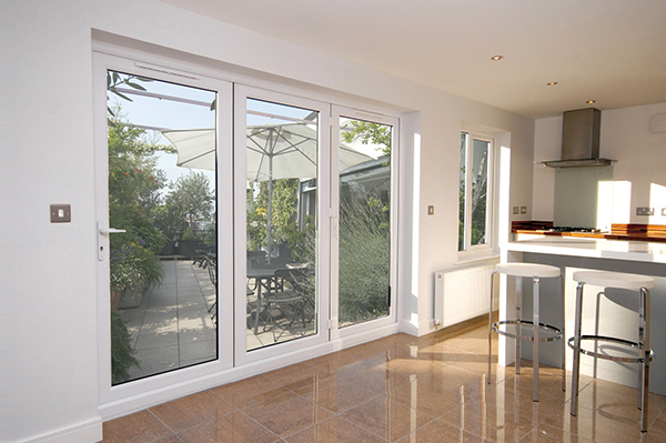 uPVC Bi-Folding Doors in Silchester & Berkshire, UK | Rainbow Double ...